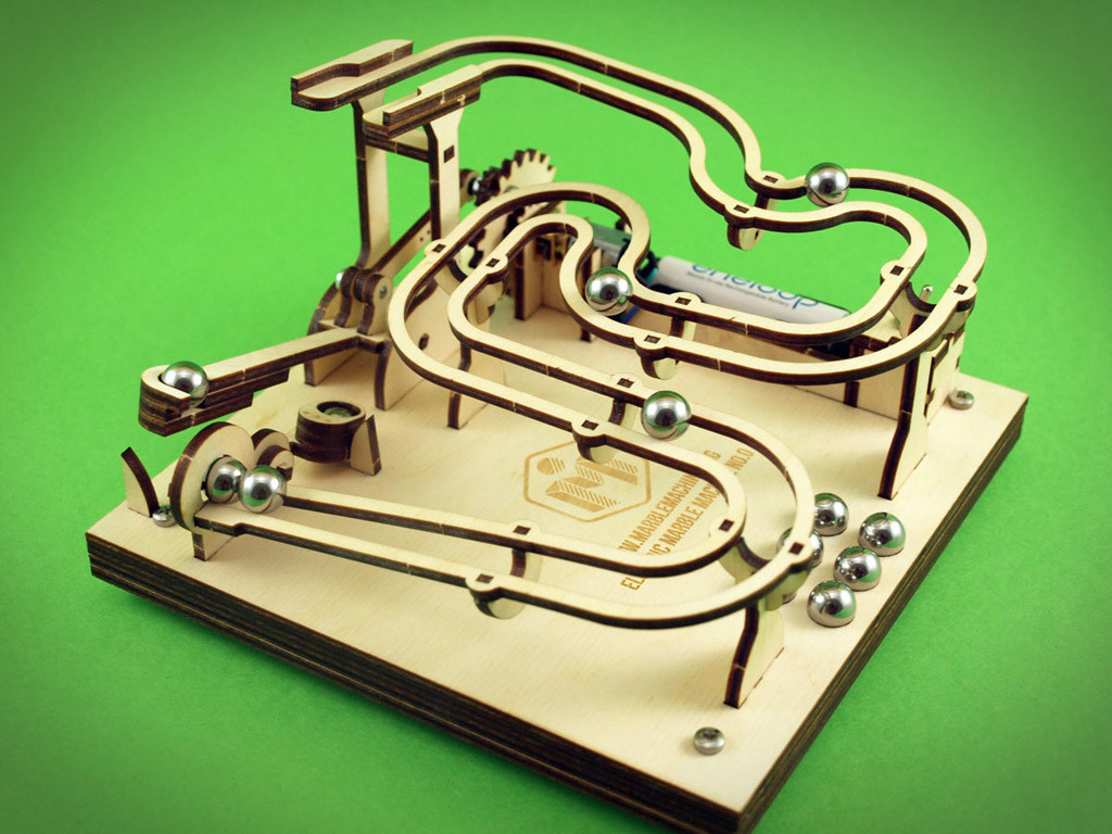 Marble Machine Kit - Build Your Own